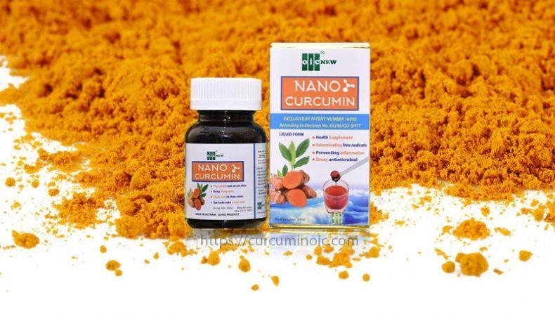 curcumin 4 tác dụng