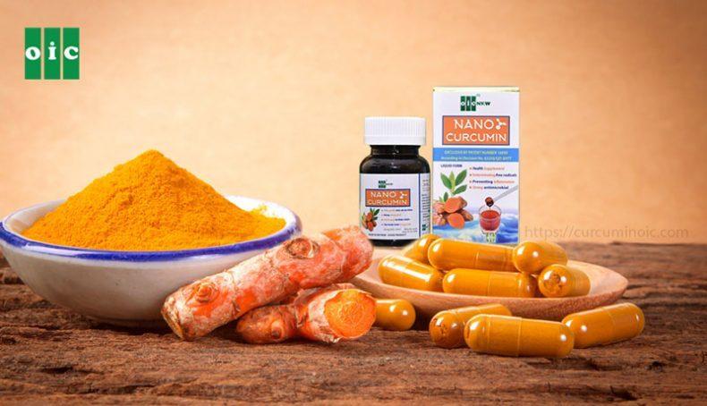 Nano Curcumin chữa bệnh dạ dày