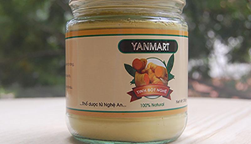 Tinh bột nghệ Yammart – Nghệ An:
