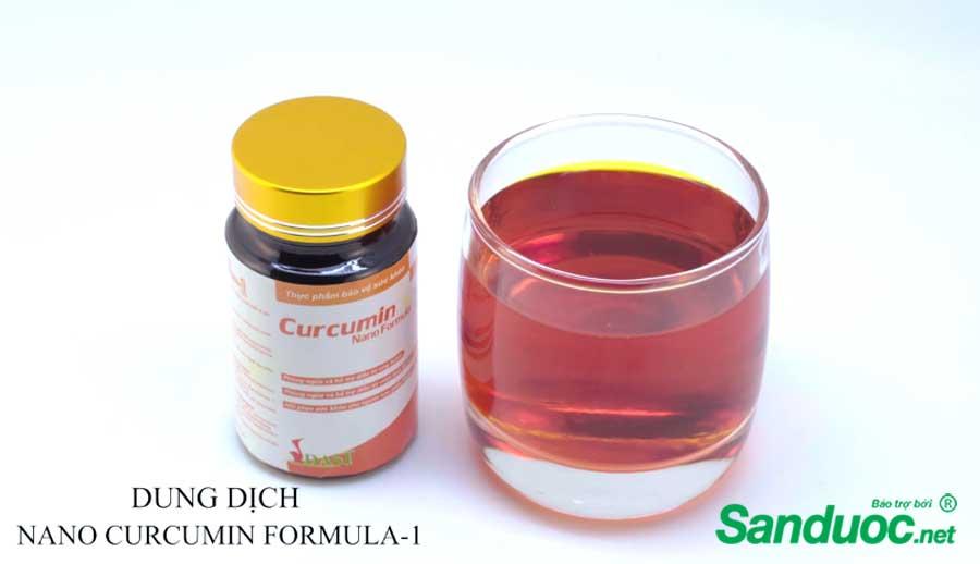 Dung dịch nano curcumi formula-1