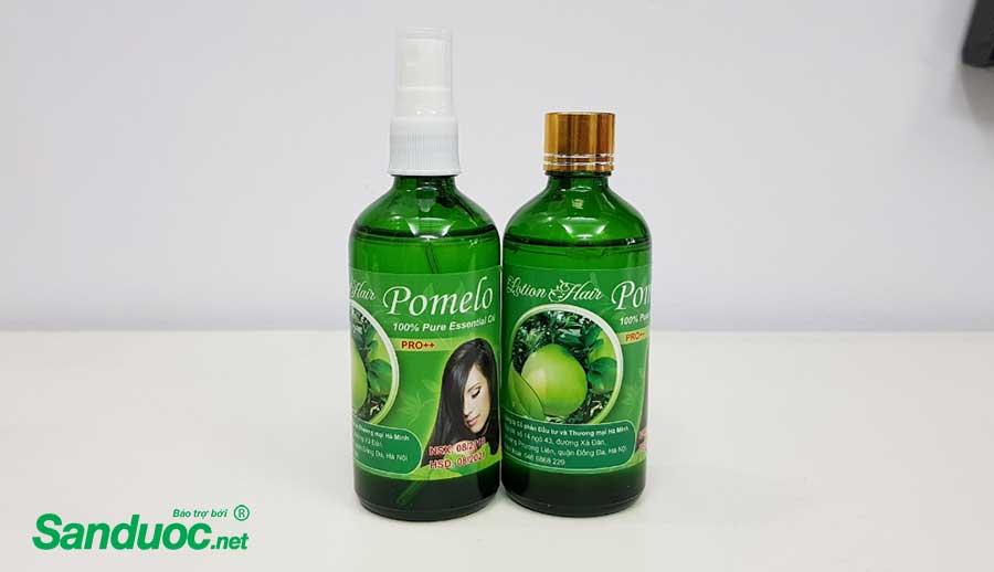 chai tinh dầu bưởi Pomelo