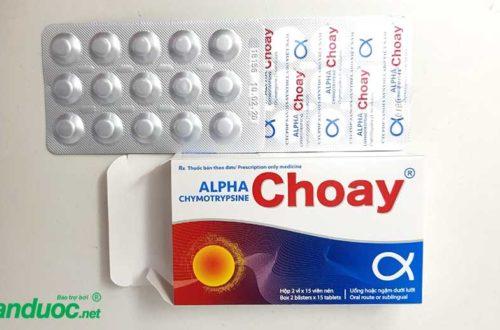 Thuốc Alpha Choay!
