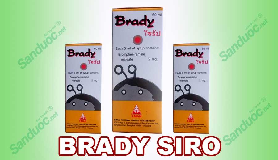 Brady siro!