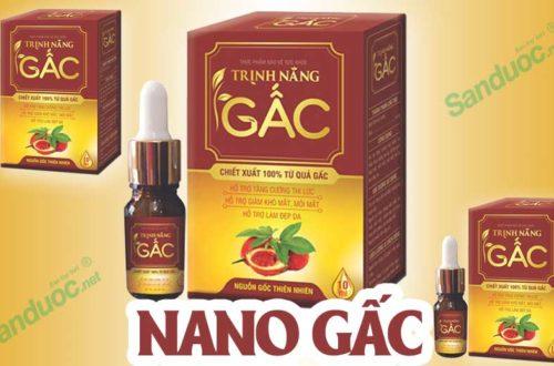 Nano gấc Trịnh Năng!