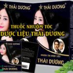 Thuốc nhuộm tóc dược liệu Thái Dương
