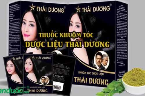 Thuốc nhuộm tóc dược liệu Thái Dương có tốt không?