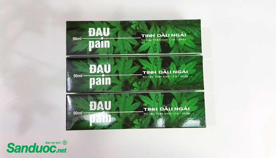 dau ngải cứu pain