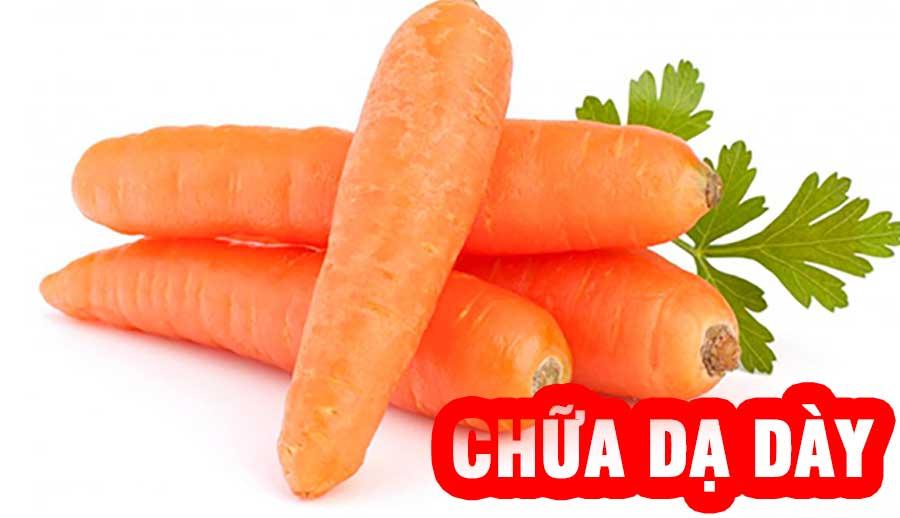 Cà rốt chữa đau dạ dày!