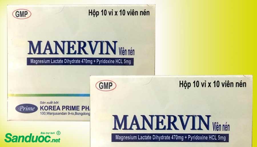 thuốc manervin