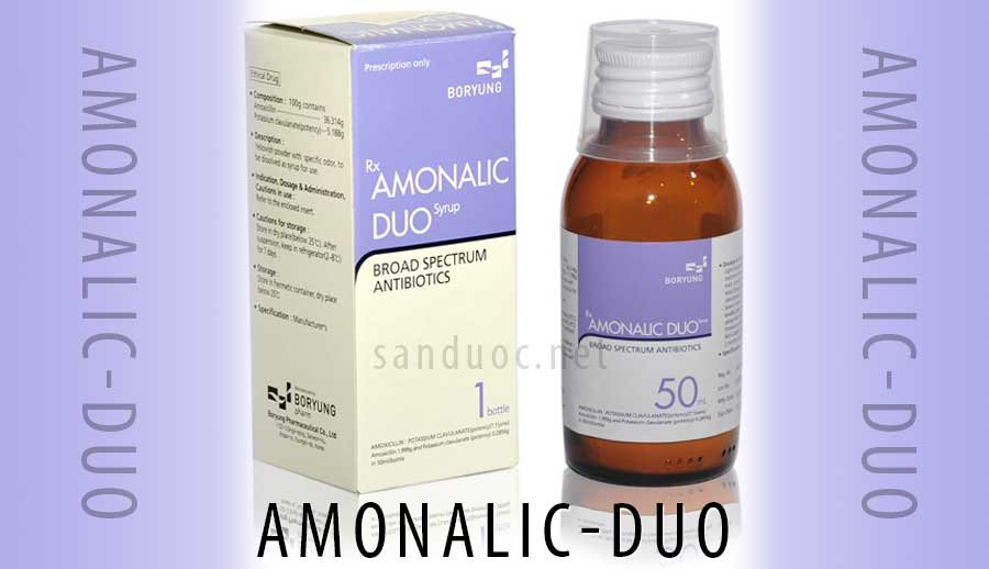 Thuốc Amonalic duo!