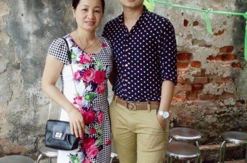 Cô Thơm và con trai