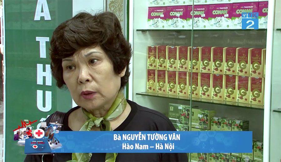 Bị suy giãn tĩnh mạch dùng Nano Rutin bà Vân đã không còn bị cơn đau hành hạ!